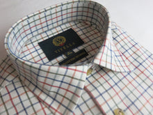 Load image into Gallery viewer, Viyella Cotton & Wool Shirt in Small Check