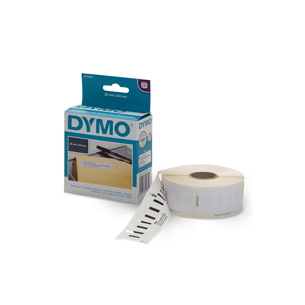 Dymo Barcode Labels 54mm x 25mm (500 Labels)-Barcode scanners, printers and labels-Gorilla Lab | Shopify Experts