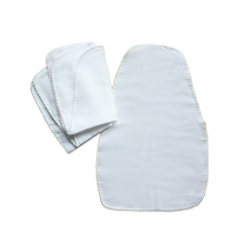 Load image into Gallery viewer, Suzuran Baby Gauze Sweat Pad 3 pcs