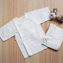 Load image into Gallery viewer, Suzuran Baby Gauze Undershirt (Short) 2 pcs