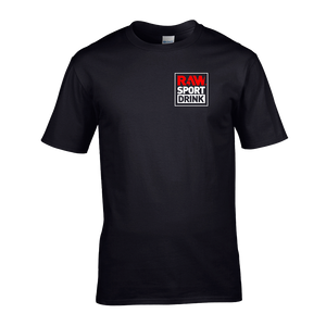 CAMISETA BASIC LOGO RAW® - BLACK