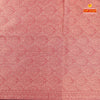 orange dual tone kanchi cotton saree