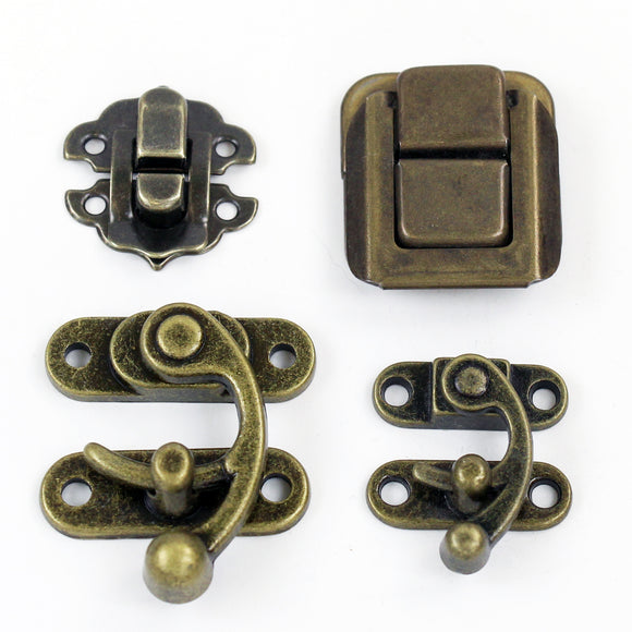 Antique Brass Latches & Catches
