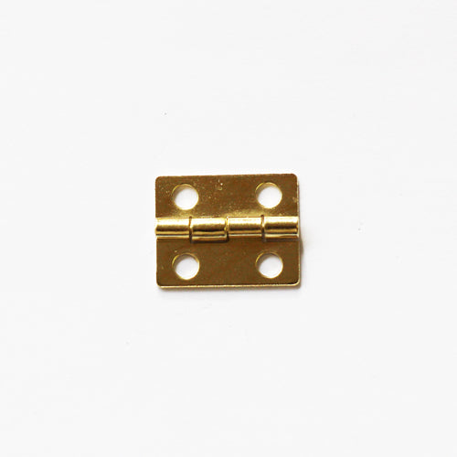 A031 - 3/4'' Width X 5/8'' Height Hinge, Brass Finish