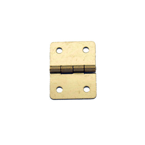 A051 - 3/4'' Width X 1'' Height Hinge, Brass Finish