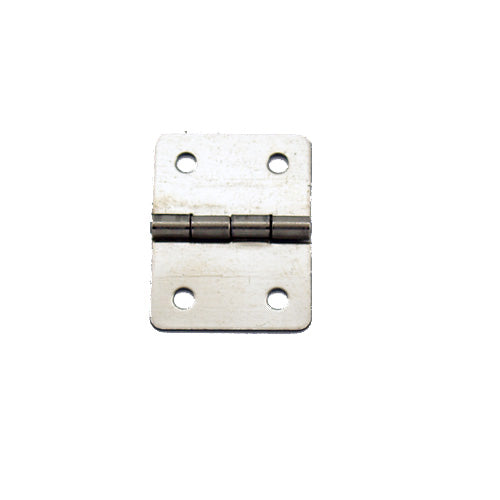 A052 - 3/4'' Width X 1'' Height Hinge, Nickel Finish