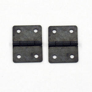 A053 Kit - 3/4'' Width X 1'' Height Hinges, Black Ni. Finish, Screws