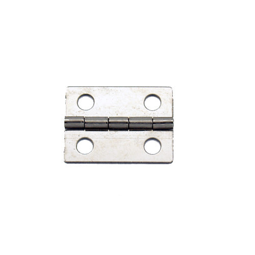 A062 - 1'' Width X 3/4'' Height Hinge, Nickel Finish