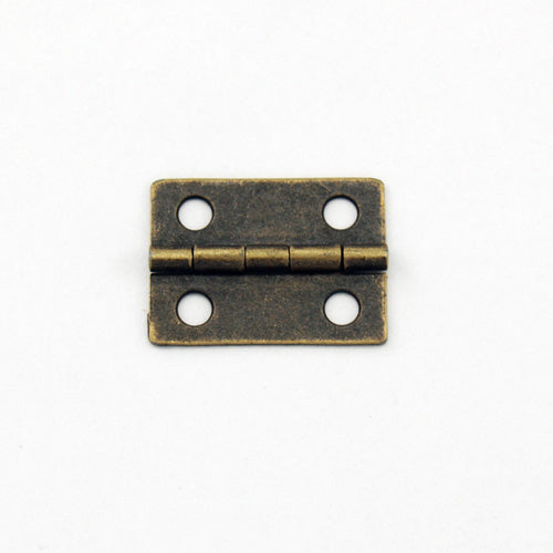 A064 - 1'' Width X 3/4'' Height Small Antique Br. Finish Hinge