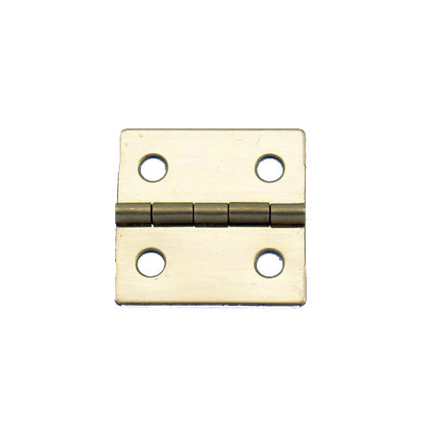 A081 - 1'' Width X 1'' Height Hinge, Brass Finish