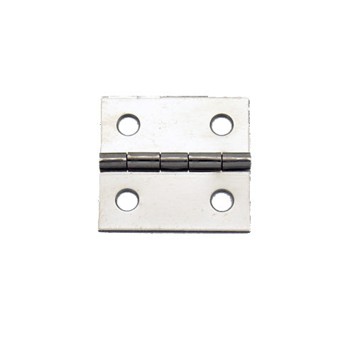 A082 - 1'' Width X 1'' Height Hinge, Nickel Finish