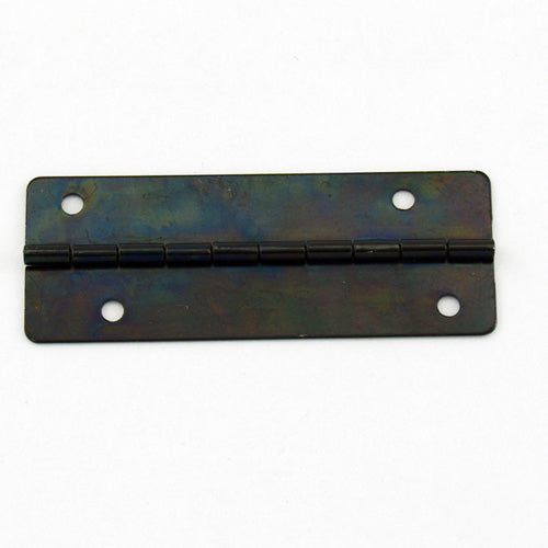 A163 - 2'' Width X 3/4'' Height Offest Hinge, Black Ni. Finish