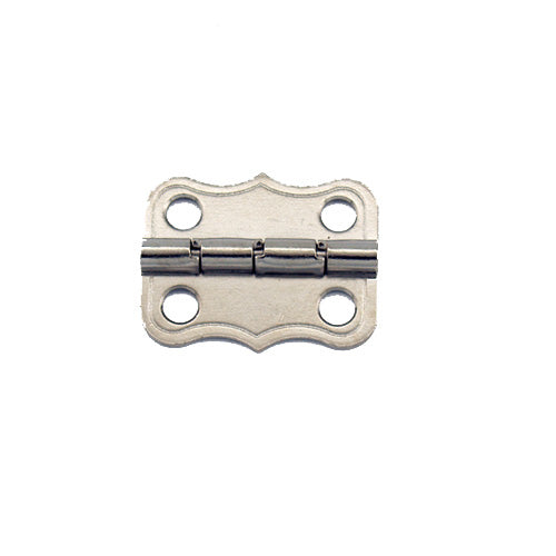 A272 - 1'' Width X 13/16'' Height Dec. Stop Hinge, Nickel Finish