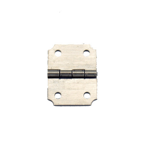 A292 - 3/4'' Width X 1'' Height Dec. Hinge, Nickel Finish