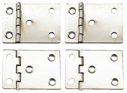 A322 Kit - Nickel Hinges for Binder Kit, Screws