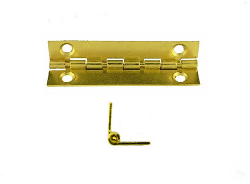 A721 - 2'' Width X 3/4'' Height Inside Stop Hinge, Brass Finish