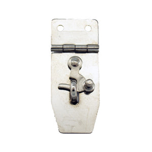 B312 - 3/4'' Width X 1 7/8'' Height Hasp w/Swing Hasp, Nickel Finish