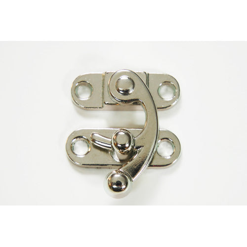 B352 - 1 1/8'' Width X 1 1/4'' Swing Catch, Small Nickel Finish Latch