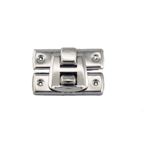 C692 - 1 1/8'' Width X 3/4'' Height Latch Catch, Nickel Finish