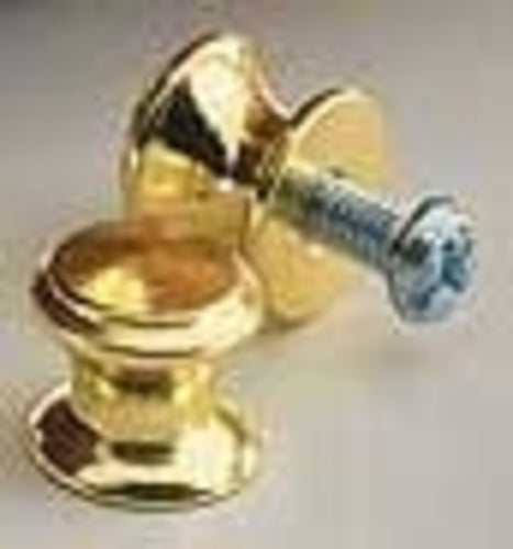 F411 - 13mm x 11mm Small Brass Knob