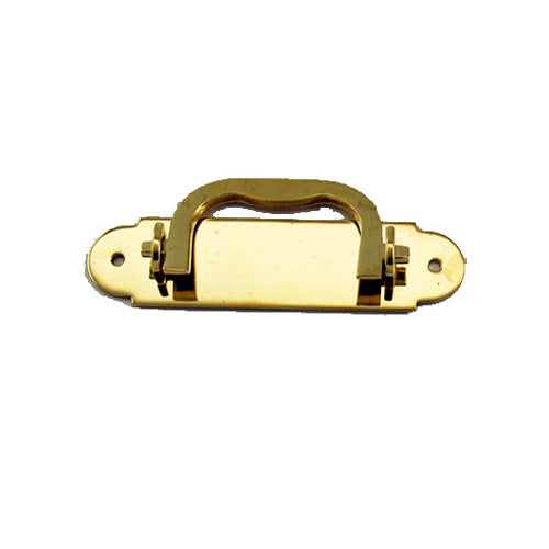 F961 - 3.5'' Solid Brass Box Handle