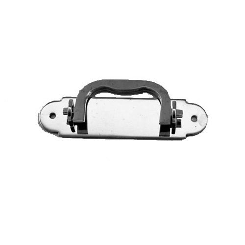 F962 - 3.5'' Nickel Plated Solid Br. Box Handle