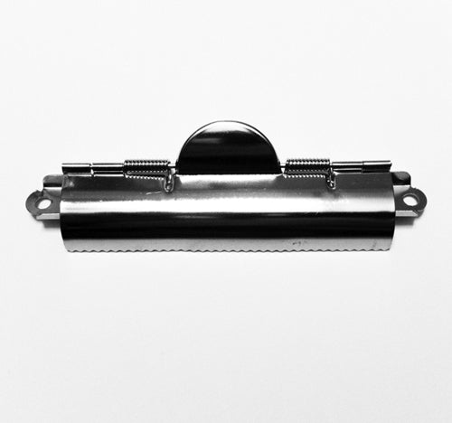 H862 - 4 3/8'' Nickel Finished Clipboard Clips