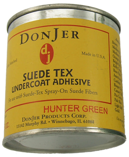 M049 - Hunter Green Suede Tex Adhesive