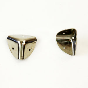 S742 - Small Nickel Plated Corners