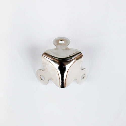 S782 - Large Nickel Plated Corners