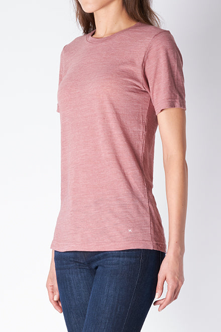 Cotton Slub T-shirt (Salmon)