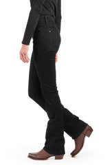 WESTERLY : Straight Leg (Black) Black Stitch