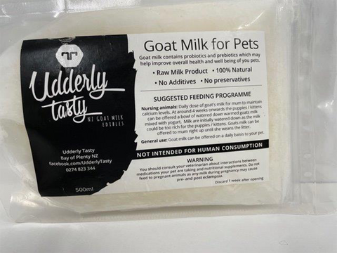 UDDERLY TASTY GOAT MILK 500ml
