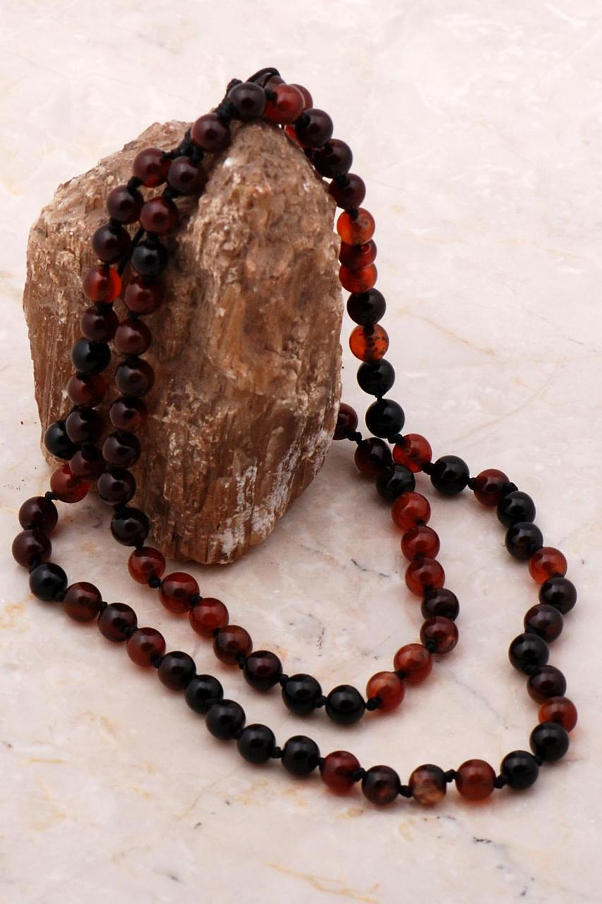 Agate Types bead Necklace