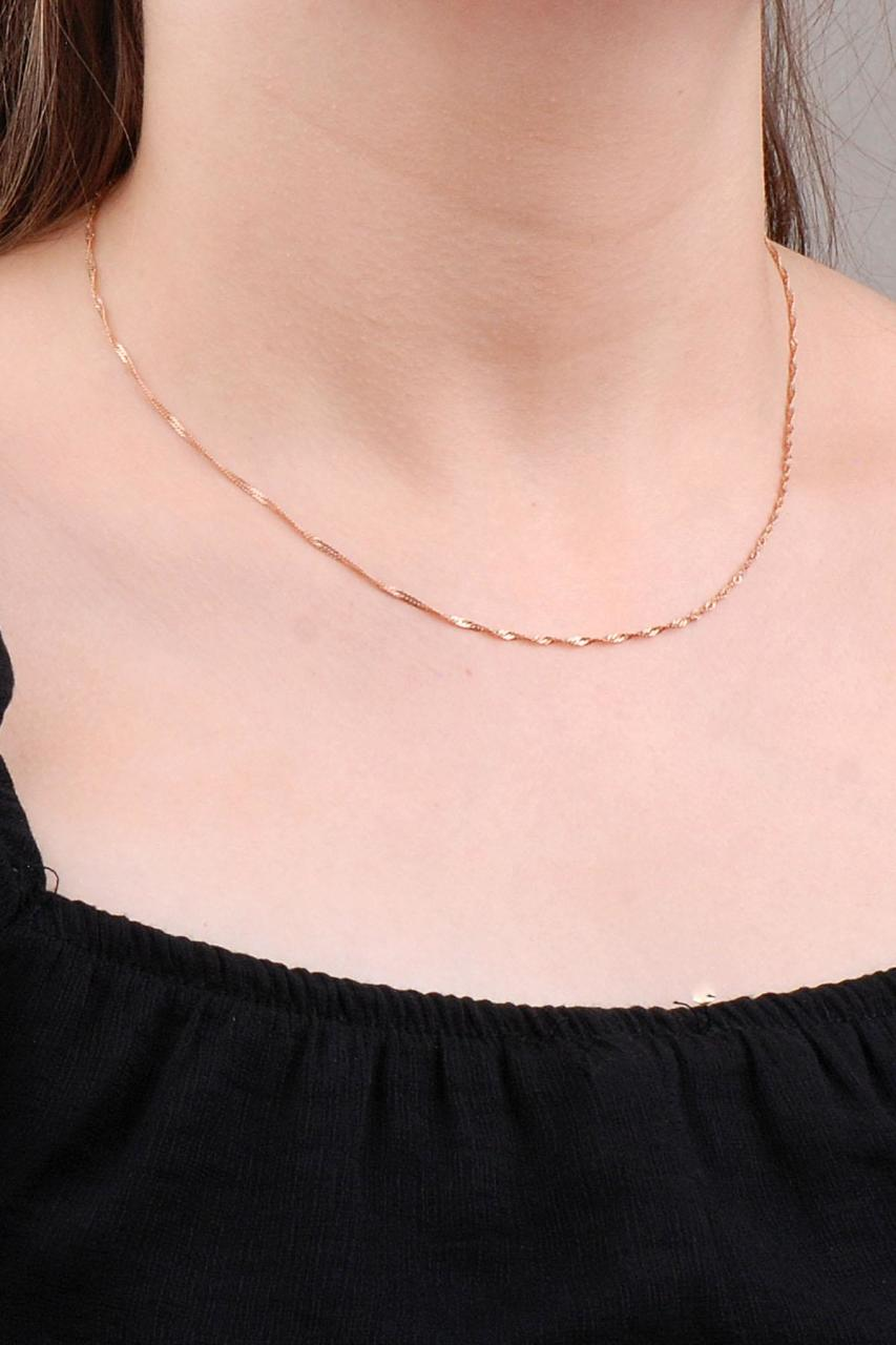 Rose Silver Chain 23