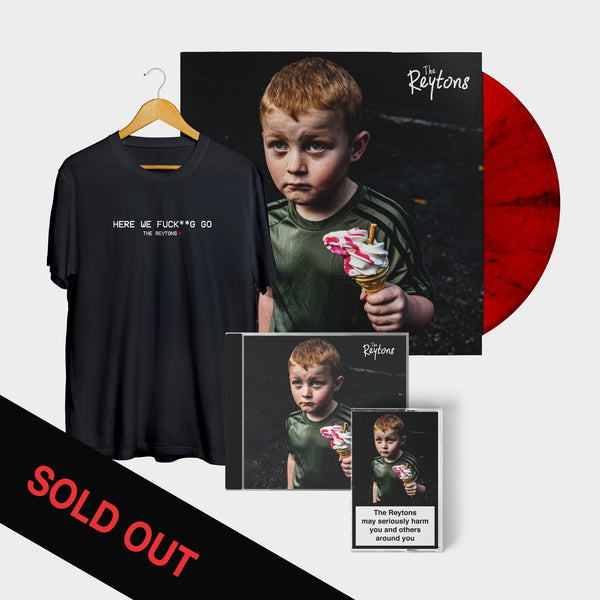 May Seriously Harm You and Others Around You EP - Red Vinyl Bundle