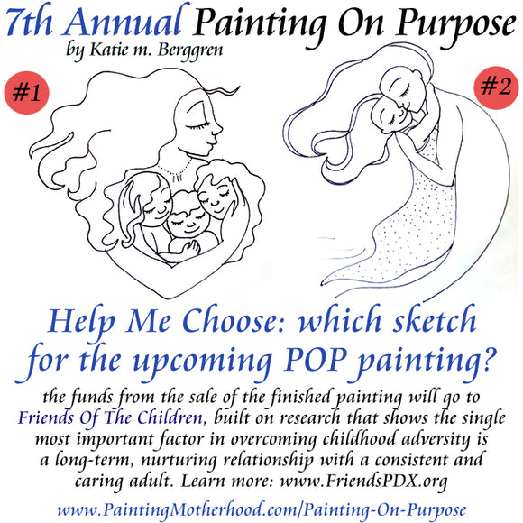 Thrive Collection - 7th Annual Painting On Purpose - Choose A Sketch!