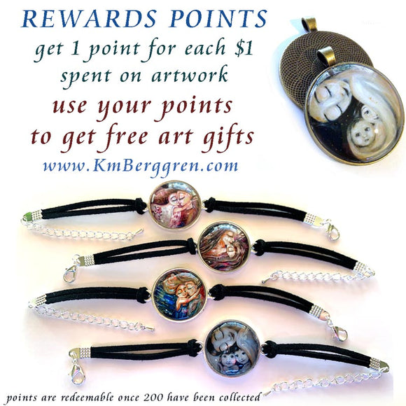 reward points for free artwork from KmBerggren