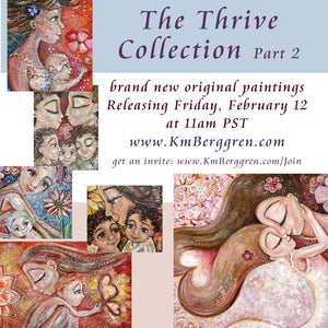 Thrive Part 2 - Tomorrow! Painting On Purpose = SOLD