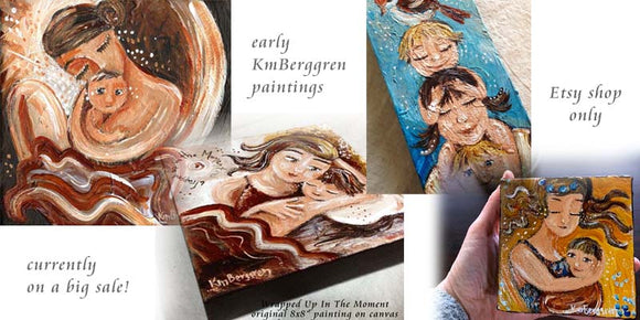 early art paintings by kmberggren on sale