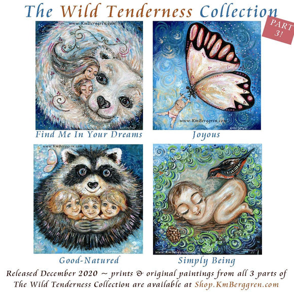 The Wild Tenderness Collection Originals & Prints