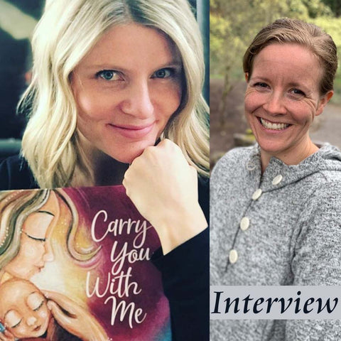 Carry You With Me Program Interview with Alanna Knobben and Katie m. Berggren