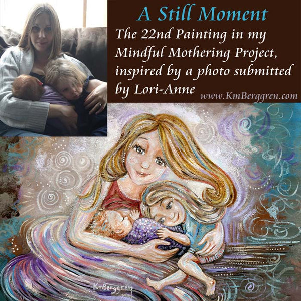 A Still Moment painting by KmBerggren. The original painting has SOLD, but get a print of A Still Moment here.