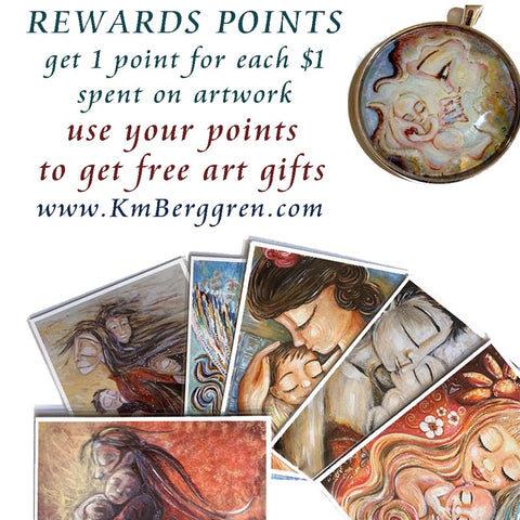spend your reward points on free art gifts for mothers day