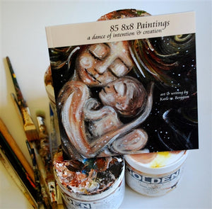 book of motherhood paintings by Katie m. Berggren