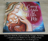 the carry you with me book cover by Alanna Knobben illustrated by KmBerggren