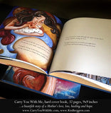 interior page of the Carry You With Me Storybook by Alanna Knobben and Katie m. Berggren
