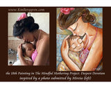 KmBerggren Mindful Motherhood Painting Deepest Devotion