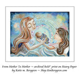 From Mother To Mother - prints from an original painting