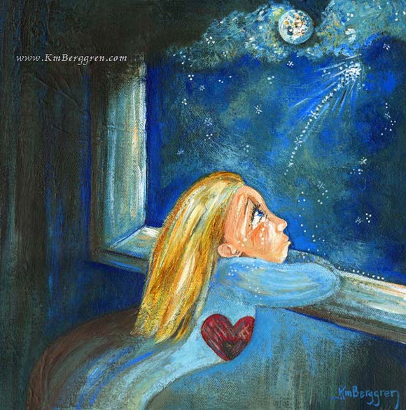 mother who is sad because of miscarriage artwork by KmBerggren from the Carry You With Me Storybook by Alanna Knobben